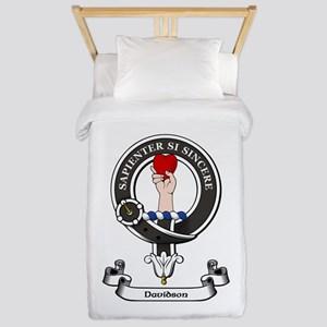 Badge-Davidson [Inverness] Twin Duvet Cover